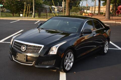 2014 Cadillac ATS for sale at Alpha Motors in Knoxville TN