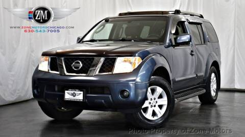 2005 Nissan Pathfinder for sale at ZONE MOTORS in Addison IL