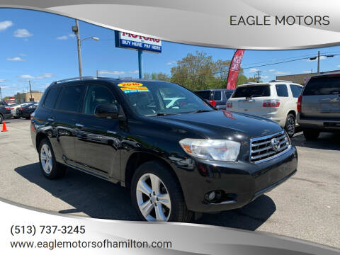 2010 Toyota Highlander for sale at Eagle Motors in Hamilton OH