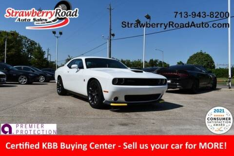 2020 Dodge Challenger for sale at Strawberry Road Auto Sales in Pasadena TX