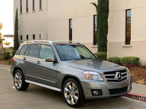 2010 Mercedes-Benz GLK for sale at Auto King in Roseville CA