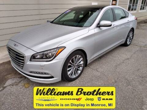 2017 Genesis G80 for sale at Williams Brothers - Pre-Owned Monroe in Monroe MI