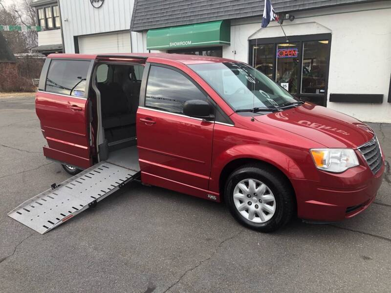 2009 Chrysler Town & Country Wheelchair Van for sale at Auto Sales Center Inc in Holyoke MA