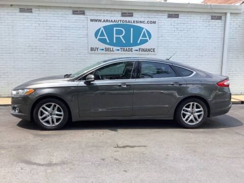 2016 Ford Fusion for sale at ARIA AUTO SALES INC.COM in Raleigh NC