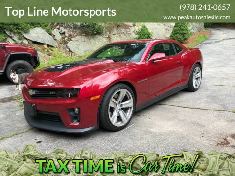 2013 Chevrolet Camaro for sale at Top Line Motorsports in Derry NH