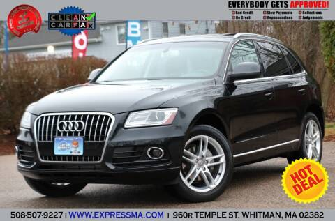 2014 Audi Q5 for sale at Auto Sales Express in Whitman MA