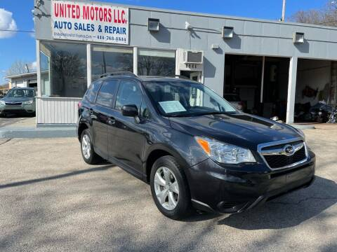 2014 Subaru Forester for sale at United Motors LLC in Saint Francis WI