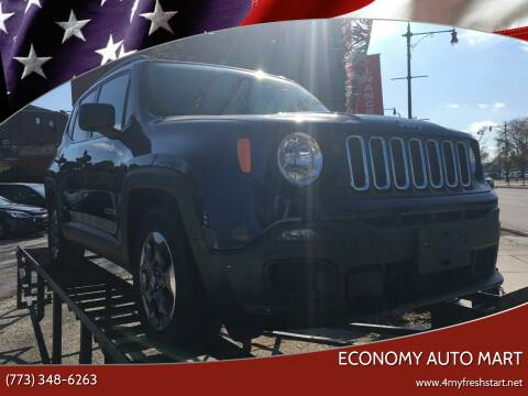 2016 Jeep Renegade for sale at ECONOMY AUTO MART in Chicago IL