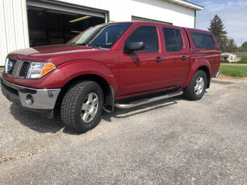2007 Nissan Frontier for sale at Purpose Driven Motors in Sidney OH