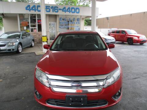 2010 Ford Fusion for sale at Elite Auto Sales in Willowick OH