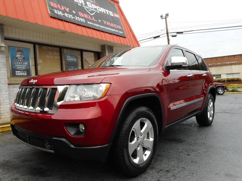 2012 Jeep Grand Cherokee for sale at Super Sports & Imports in Jonesville NC