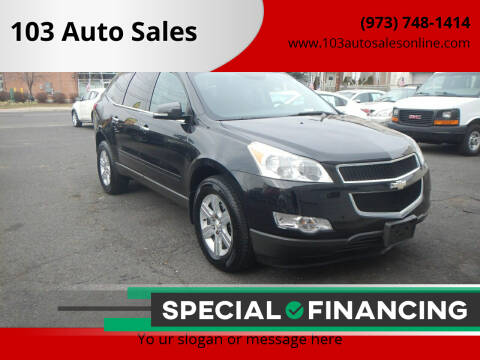 2010 Chevrolet Traverse for sale at 103 Auto Sales in Bloomfield NJ