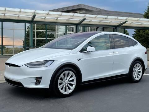 2018 Tesla Model X for sale at GO AUTO BROKERS in Bellevue WA