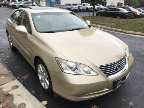 2007 Lexus ES 350 for sale at Dotcom Auto in Chantilly VA