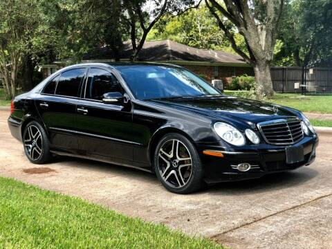 2008 Mercedes-Benz E-Class for sale at Texas Auto Corporation in Houston TX