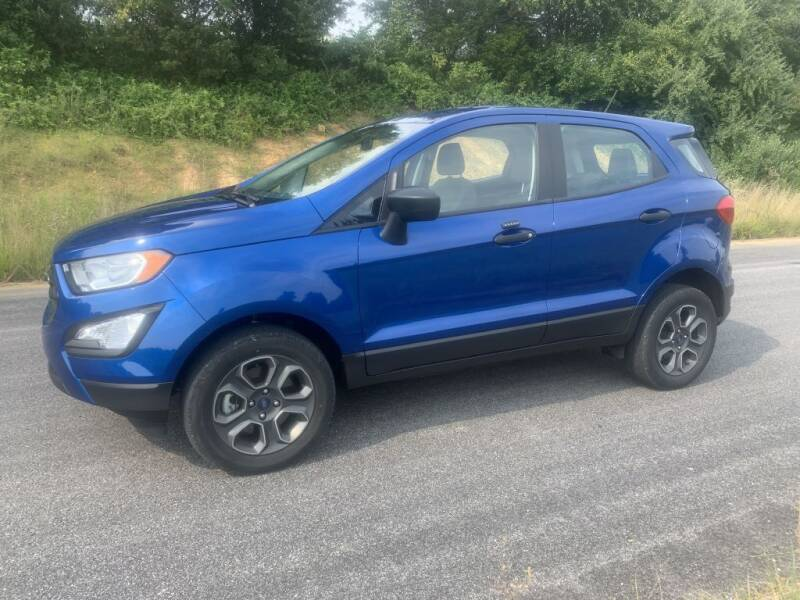 2018 Ford EcoSport for sale at Drivers Choice Auto in New Salisbury IN