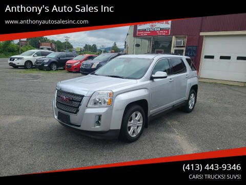 2014 GMC Terrain for sale at Anthony's Auto Sales Inc in Pittsfield MA