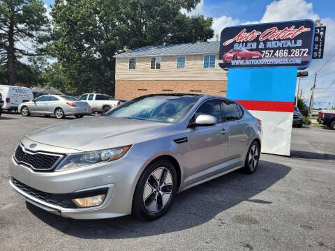 2011 Kia Optima Hybrid for sale at Auto Outlet Sales and Rentals in Norfolk VA