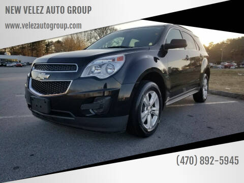 2013 Chevrolet Equinox for sale at NEW VELEZ AUTO GROUP in Gainesville GA