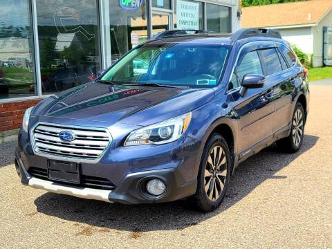 2016 Subaru Outback for sale at Green Cars Vermont in Montpelier VT