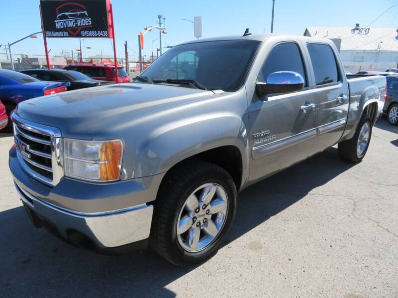 2013 GMC Sierra 1500 for sale at Moving Rides in El Paso TX