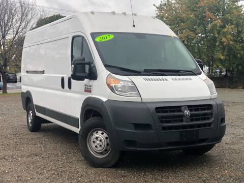 2017 RAM ProMaster Cargo for sale at Best Cars Auto Sales in Everett MA