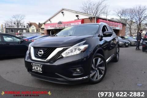2015 Nissan Murano for sale at www.onlycarsnj.net in Irvington NJ