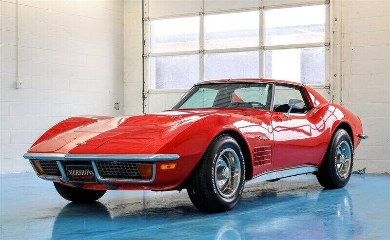 1972 Chevrolet Corvette for sale at Mershon's World Of Cars Inc in Springfield OH