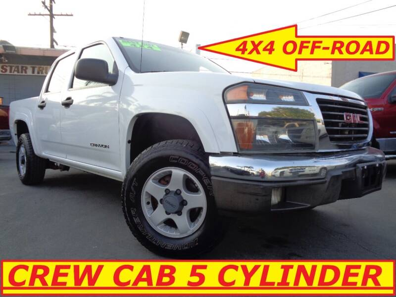 2005 GMC Canyon for sale at ALL STAR TRUCKS INC in Los Angeles CA