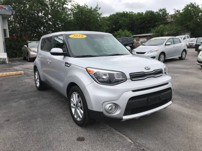 2018 Kia Soul for sale at Auto Solution in San Antonio TX