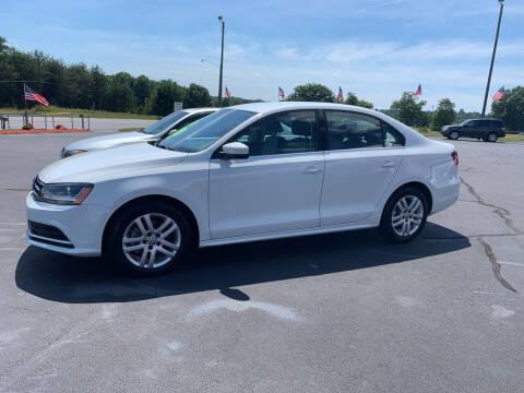 2017 Volkswagen Jetta for sale at Doug White's Auto Wholesale Mart in Newton NC