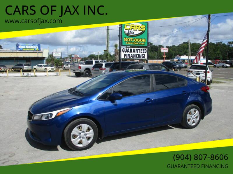 2018 Kia Forte for sale at CARS OF JAX INC. in Jacksonville FL