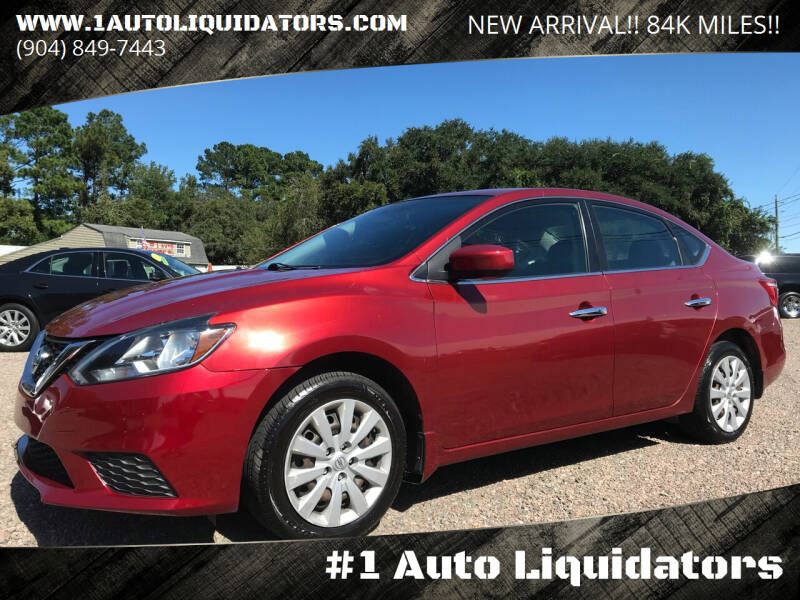 2016 Nissan Sentra for sale at #1 Auto Liquidators in Yulee FL