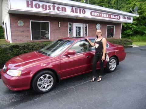 2001 Acura TL for sale at HOGSTEN AUTO WHOLESALE in Ocala FL