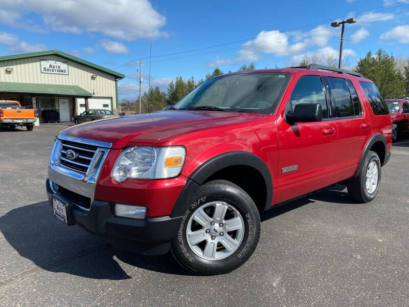2007 Ford Explorer for sale at Lakes Area Auto Solutions in Baxter MN