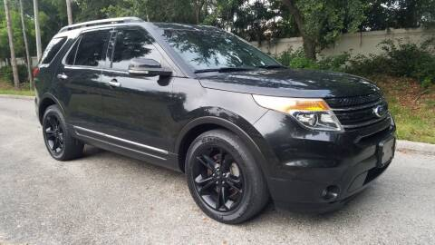 2015 Ford Explorer for sale at DELRAY AUTO MALL in Delray Beach FL