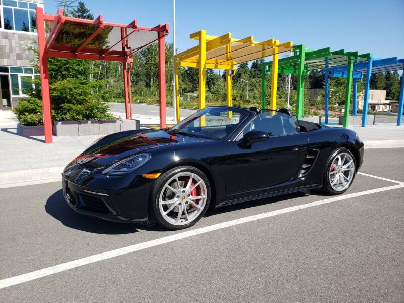 2017 Porsche 718 Boxster for sale at Painlessautos.com in Bellevue WA
