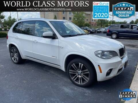 2013 BMW X5 for sale at World Class Motors LLC in Noblesville IN
