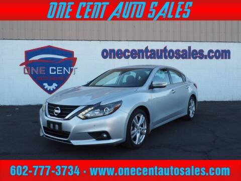 2017 Nissan Altima for sale at One Cent Auto Sales in Glendale AZ