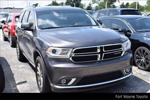 2014 Dodge Durango for sale at BOB ROHRMAN FORT WAYNE TOYOTA in Fort Wayne IN