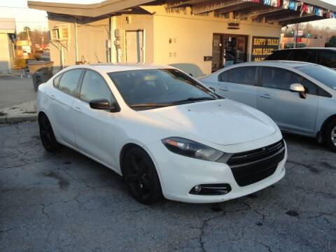 2014 Dodge Dart for sale at HAPPY TRAILS AUTO SALES LLC in Taylors SC