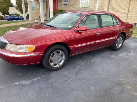 1999 Lincoln Continental for sale at Ace Motors in Saint Charles MO