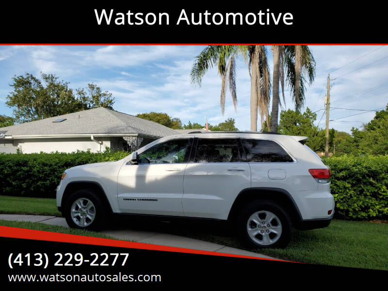 2017 Jeep Grand Cherokee for sale at Watson Automotive in Sheffield MA