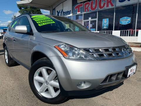 2005 Nissan Murano for sale at Xtreme Truck Sales in Woodburn OR