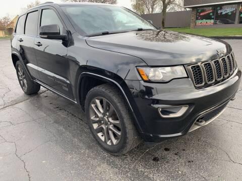 2016 Jeep Grand Cherokee for sale at Hawkins Motors Sales in Hillsdale MI