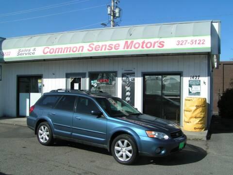 2006 Subaru Outback for sale at Common Sense Motors in Spokane WA