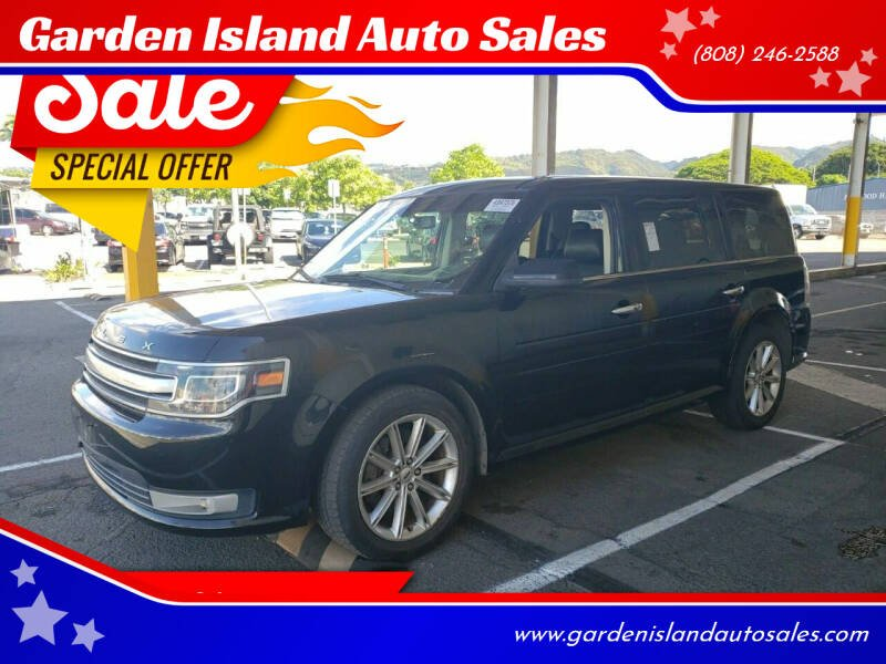 2014 Ford Flex for sale at Garden Island Auto Sales in Lihue HI