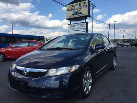 2010 Honda Civic for sale at A & D Auto Group LLC in Carlisle PA