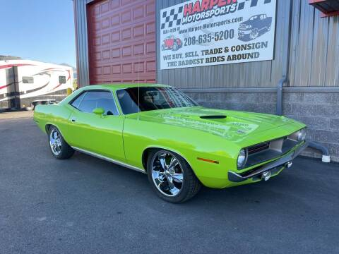 1970 Plymouth Barracuda for sale at Harper Motorsports-Vehicles in Post Falls ID