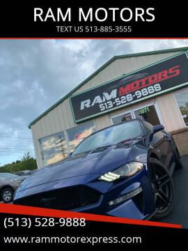 2019 Ford Mustang for sale at RAM MOTORS in Cincinnati OH